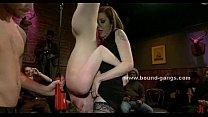 Beauty with large breasts gangbang sex Vorschaubild