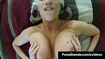 Busty Blonde Puma Swede Does Kinky Voyeur SpyCam Fuck Video! thumbnail