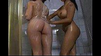 Lesbian Soapy Massage
