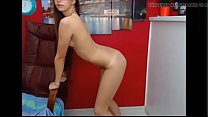 Perfect grey eyes girl striptease - more at Cams228.com