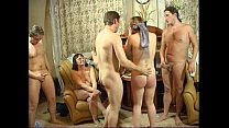 Gangbang Russian swingers