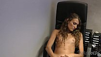 melisa first time porn interview in my office