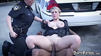 Busty Police Officers IR Banged In The Middle O