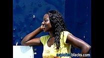 Builders piss in black girl's mouth Preview