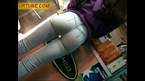 Candid Camera In Public Store Films Perfect Fit Ass In Jeans 01 pornhub video