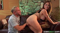 Busty chick Kianna Dior is so good in blowing and riding cock preview image