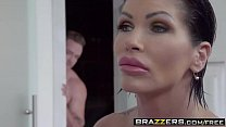 Brazzers - Mommy Got Boobs - Clueless Cum Lessons scene starring Shay Fox and Kyle Mason pornhub video