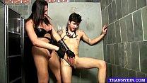 Tranny Mistress Humiliating Boy