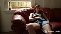Horny Yanks Babe Pandora Blake Plays With Her Strapon