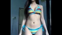 young hot cute sexy asian girl strip صورة
