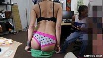 Weird Guys Pawns Her Girl's Ass   XXX Pawn