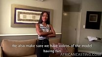 Skinny african babe getting filled preview image