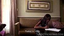 Skinny african babe getting filled Image