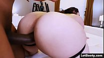 Fat ass MILF latina Alycia Starr gets fucked by black cock