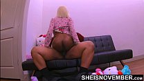 4k Msnovember Daddy Dick Straddling With Pajamas Drop Seat Unbuttoned And Thick Ebony Ass Out On Sheisnovember