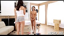 Dishy nipponese brunette bombshell Holly Michaels expreses her nastiness's Thumb