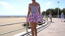 humouron.com - Short Skirt And Wind. Public Flashing... thumbnail