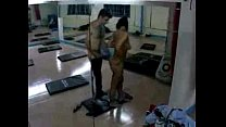 16555 daring man has sex with trainer in the gym /100dates preview