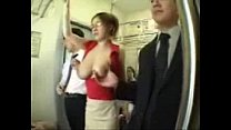 Big Tits Asian Groped on Train preview image