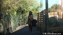 Black teen Candys public nudity and flashing ebony babes Preview