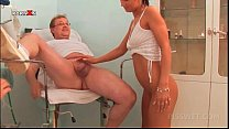 Screenshot Cute Blonde And Sexy Nurse Sharing Doctors Piss