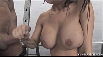 Cumblast In The Gym ⁃ porn sexy girl thumbnail