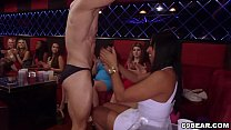 big whooty - Lucky male strippers get sucked by horny chicks thumbnail