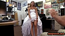 Blond woman drilled by horny pawn dude