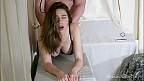 Hot brunette Samantha Flair fucked by Stepdad
