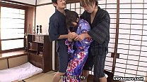 Nene Nagasawa getting ravaged by the randy dudes thumb
