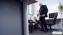 busty german blondie lilli vanilli fucked hard in the office, mofosporno