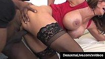 Texas Cougar Deauxma & Colombian Ariella Ferrer...