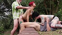 Amelia Dire/Mallory Maneater (DSC4-2) Golden Shower Threesome Deepthroat Oral Pussyfucking Cumshot