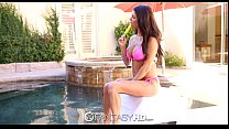 Peta Jensen with a deep thro swallows a warm load - FantasyHD - 9Club.Top