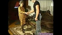 Granny Having Sex With A Young Guy video