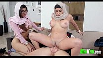 Mia Khalifa and her mom team up on her BF 4 94 tumblr xxx video