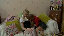 freeadultgames & Blonde Teens Lesbians Fucking Anal With Strapon thumbnail