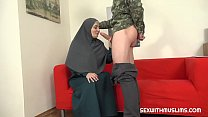 Hot muslim wife gets fucked hard صورة