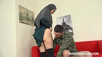 Hot muslim wife gets fucked hard صورة