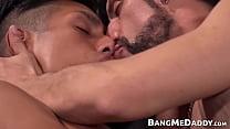 Gay Latino Twink Sucks And Rides Huge Mature Cock