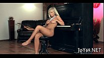 Stunning solo angel in a hot play