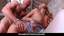 MyBabySittersClub - Hot Babysitter Seduces And Fucks New Boss thumbnail