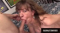 Horny GILF Babe Morgan Cannot Resist the Desire...