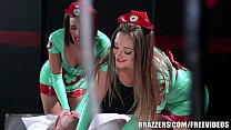 Brazzers - Sexy nurses Dani and Luna help with sexual healing porn thumbnail