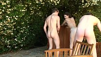 15139 Amateur anal sex with Maria and her son's friends breaking it preview
