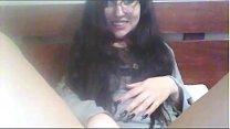 Chilena Nataly Duran Mostrando El Poto Por Webcam