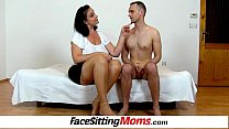 Download video bokep Busty plumper housewife Danielle facesitting a ... 3gp terbaru