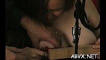Hot females in mad xxx scenes of raw bondage extreme