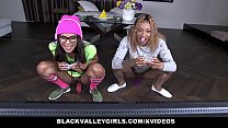 8676 BlackValleyGirls - Black Gamer Girls Ride Hard Cock preview