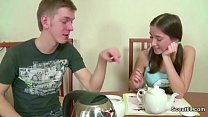 Bro Seduce Petite Step-Sister to Fuck and Cream... thumb